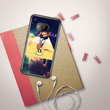 disney Mickey mouse Hipster Triangle Galaxy HTC One M9 Case Planetscase.com