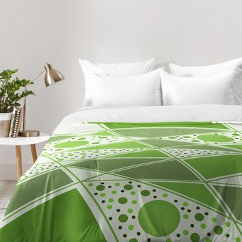 Viviana Gonzalez Greenery Sensation 01 Comforter | DENY Designs Home Accessories