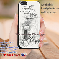 Together All The Time Quote iPhone 6s 6 6s+ 5c 5s Cases Samsung Galaxy s5 s6 Edge+ NOTE 5 4 3 #cartoon #disney #WinnieThePooh dl9