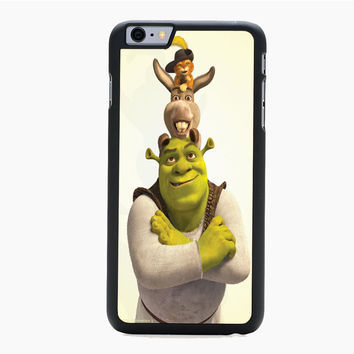 shrek donkey and puss For HTC One M7 M8 | M9 Case