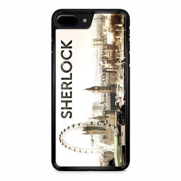 Sherlock Holmes Wallpaper iPhone 8 Plus Case