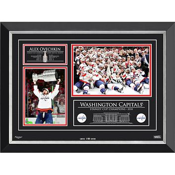 ALEXANDER OVECHKIN & THE WASHINGTON CAPITALS STANLEY CUP CHAMPS, LTD ED 1 OF 88