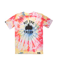 Mile High - Hit the Trees Tie Dye Tee