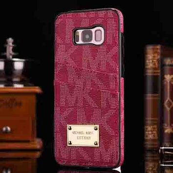 Perfect Michael Kors Phone Cover Case For Samsung s8 s8plus
