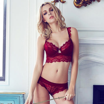 Ladies Lace Permeable Sexy Lingerie = 5990097921