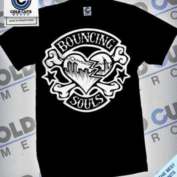"The Bouncing Souls ""Rocker Heart"" Shirt 