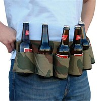 Ultimate Six Pack Beverage Belt