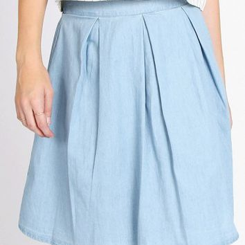 Tiffany Denim Skirt