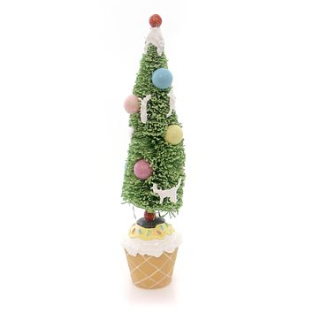 Tabletop CUPCAKE TREE Mixed Media Party Centerpiece 68711 YELLOW