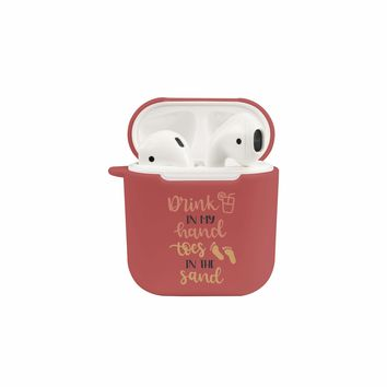 Soft TPU Airpod Protective Case - DRINK IN MY HAND