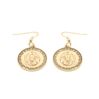 Versace Living Medallion Earrings – Anarchy Street