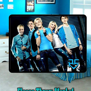 R5 Ross Rikes Lynch / Fleece/ Blanket /Throw /Bedspread/ Bedding/Living Room Decor
