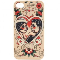 Sourpuss Til Death iPhone 5 Case