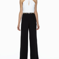 Atwood Sleeveless Wide-Leg Jumpsuit