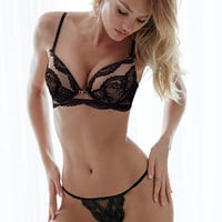 Lace Plunge Push-Up Bra - Victoria's Secret Designer Collection