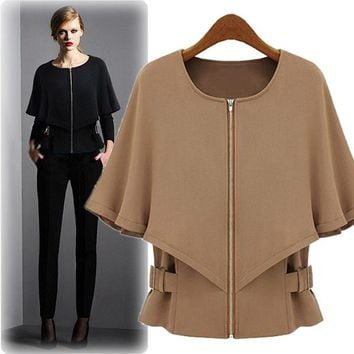 Women's Fashion Tops Slim Scarf Suits [22460039194]