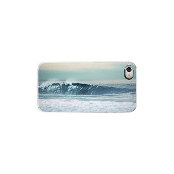 Iphone Case Lets Ride Ocean Waves Retro by Maddenphotography