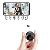 1080P Mini Wi-Fi Camera with Night Vision - Magnetic & Wearable