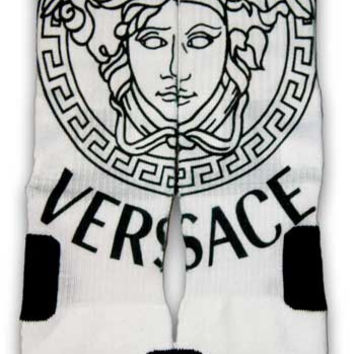 Versace Nike Custom Elite Socks | CustomizeEliteSocks.com™