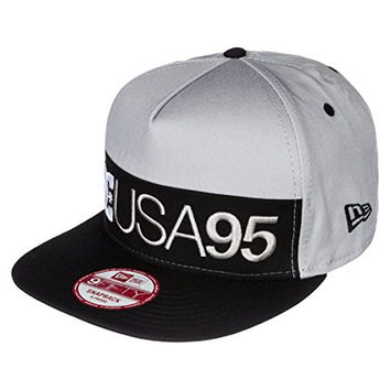 DC Shoes Men's Rob Dyrdek Division Snapback Hat Grey One Size