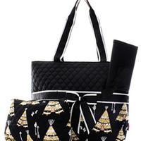 Teepee Diaper Bag