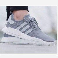 """Adidas"" Women Fashion Trending Running Sports Shoes Fashion grey"