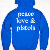 Country Girl® Peace Love Pistols Relaxed Pullover Hoodie