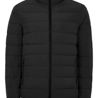 Black Quilted Jacket | Topman