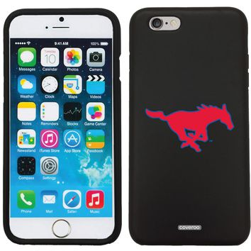 SMU Mustang Logo Outline Customizable Personalized Case