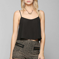 Ladakh Sparkle Tweed Short - Urban Outfitters
