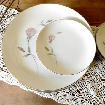 China Dinner Plates Set Mikasa Primrose