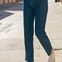 John Galt Dark Wash High Rise Jeans at PacSun.com