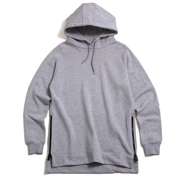 Classic Pullover Hoody Heather Grey