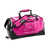 Under Armour UA Hustle Storm SM Duffle Bag One Size Fits All PINKADELIC