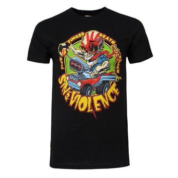 Five Finger Death Punch - Sin and Violence Adult T-Shirt