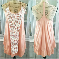 BRUNCH WITH THE GIRLS DRESS IN BLUSH