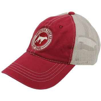 SPC Trucker Hat in Crimson by Southern Point Co.