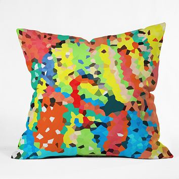 Rosie Brown Easter Candy Throw Pillow