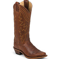 Justin Boots Honey Western Boots - Rust/Copper