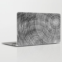 Gray cycles Laptop & iPad Skin by Haroulita