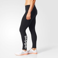 adidas Essentials Linear Tights - Black | adidas US