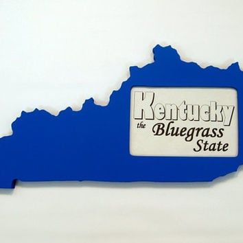 Kentucky picture frame 4x6