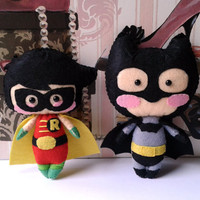 Batman & Robin Doll Patterns
