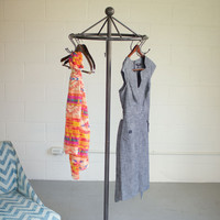 Spin Spin Spin Iron Clothes Rack
