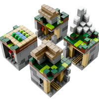 J!NX : Lego Minecraft The Village
