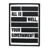 Your Government Patch (Limited Edition)