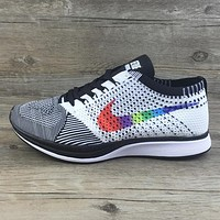 Nike Flyknit Racer Woman Men Casual Sport Shoes Sneakers