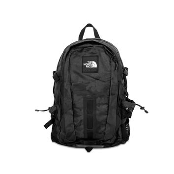 [FREE SHIPPING] The North Face Hot Shot Backpack - Black Camo