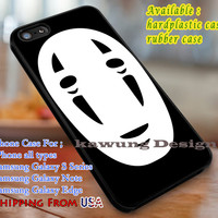 No Face, Spirited Away, case/cover for iPhone 4/4s/5/5c/6/6+/6s/6s+ Samsung Galaxy S4/S5/S6/Edge/Edge+ NOTE 3/4/5 #movie #spiritedaway dl1