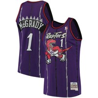 Tracy McGrady Toronto Raptors Mitchell & Ness Purple 1998-99 Hardwood Classics Swingman Jersey - Best Deal Online